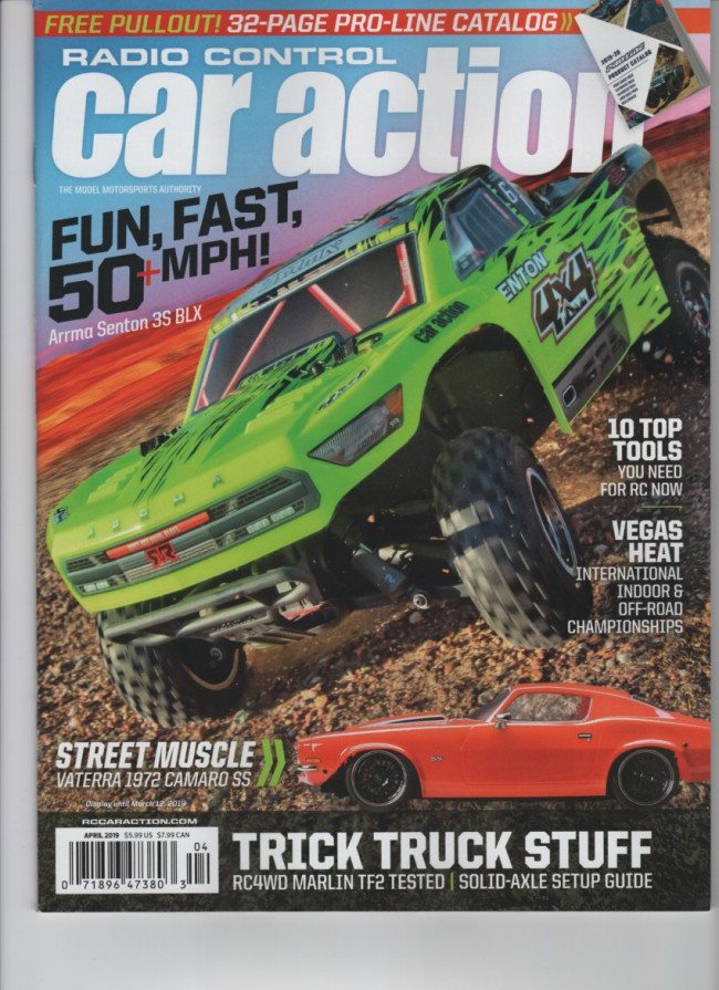 Rc Car Action >> Mag0015 Apr Rc Car Action Magazine April 2019 Remote Controlled Hobby