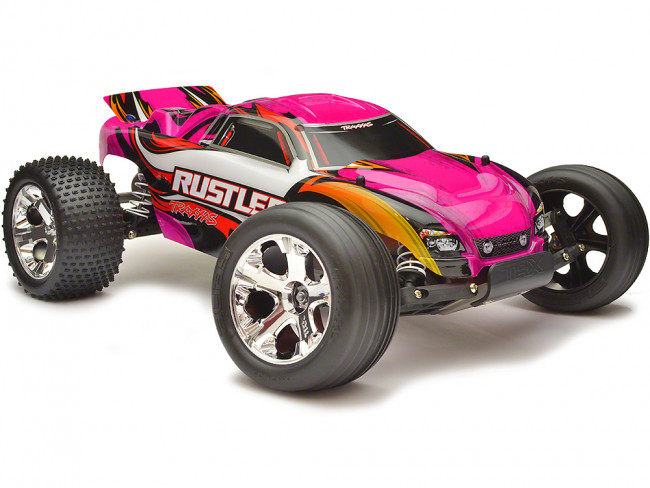 TRA34054 5PNK TRAXXAS RUSTLER PINK Remote Controlled Hobby