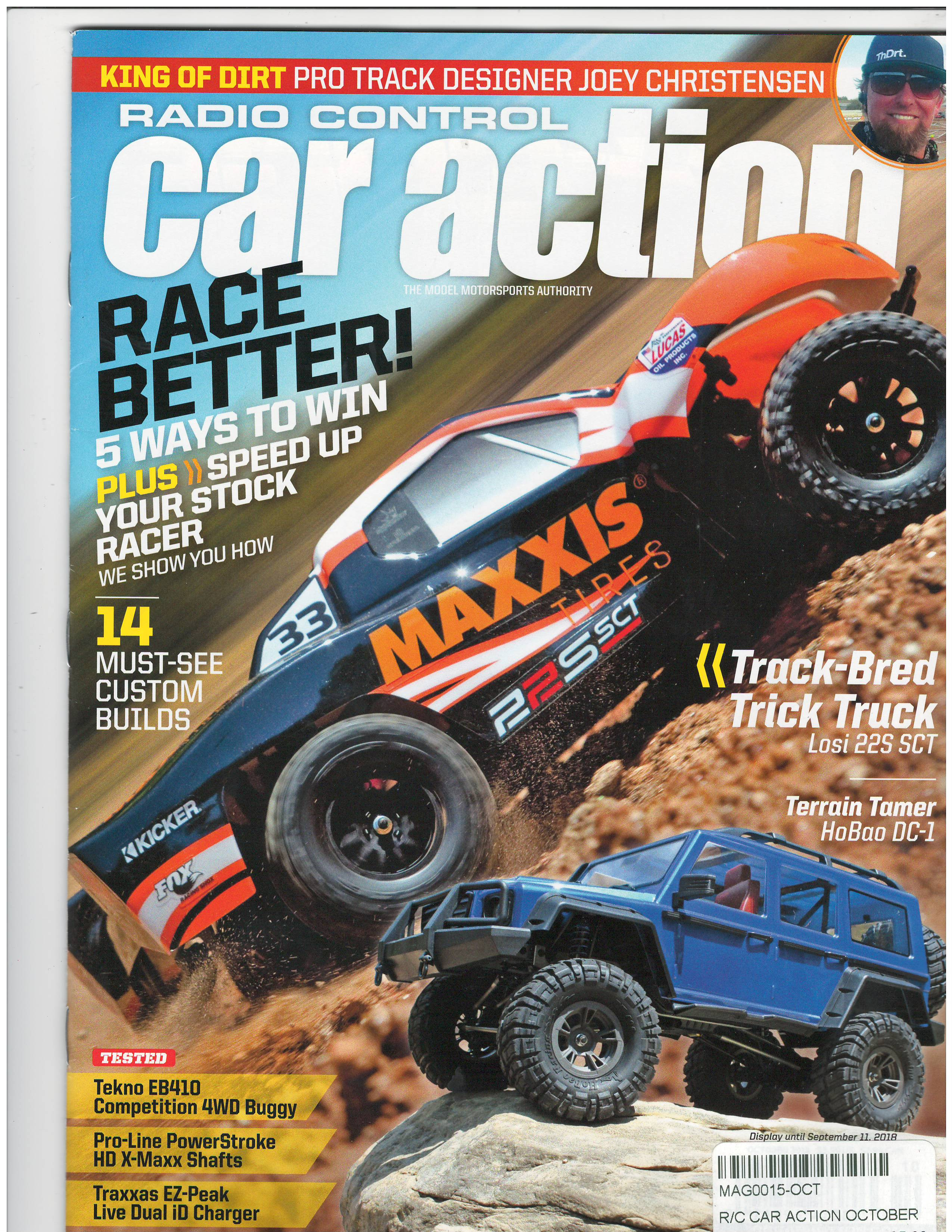 Rc Car Action >> Rc Car Action Magazine October 2018