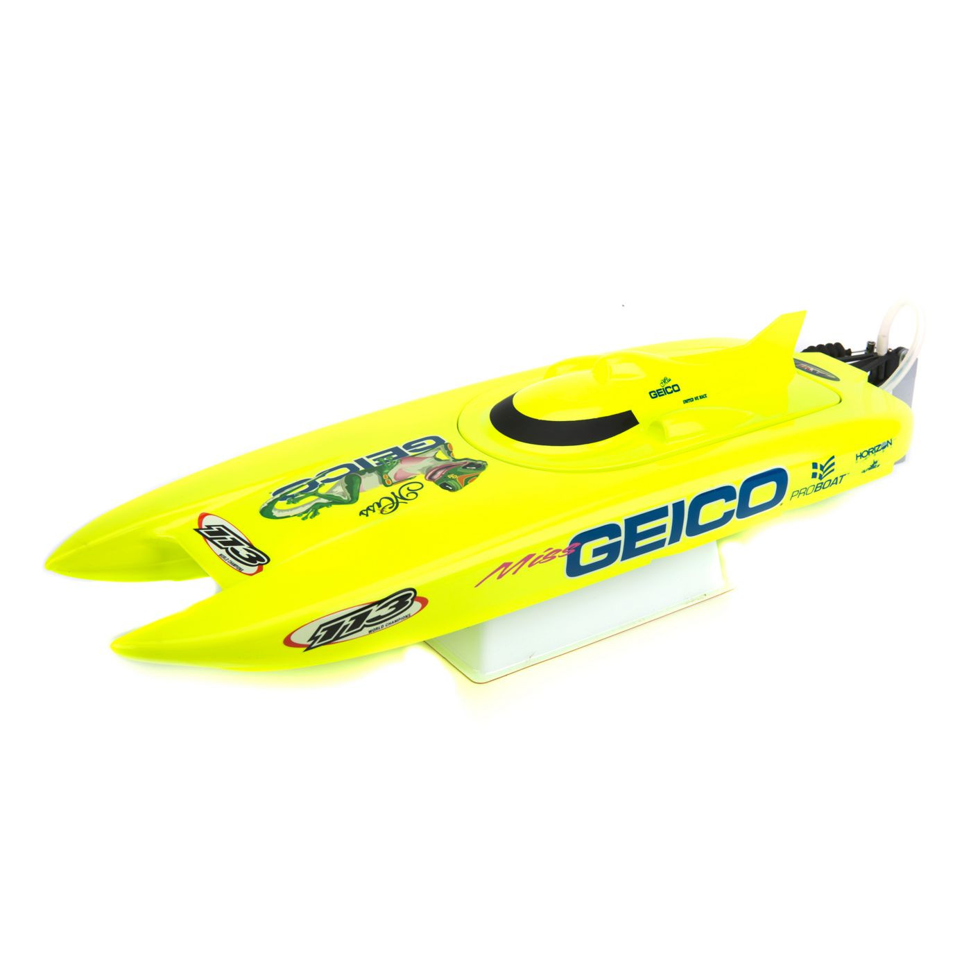 PRB08019 Pro Boat Miss Geico 17-inch Catamaran Brushed ...