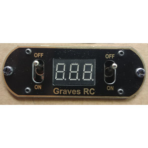 Graves RC Hobbies Double Digital Display Switch