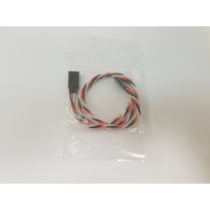 """GRAVES RC HOBBIES Extension, Futaba, Twisted, 22AWG, 24"""""""