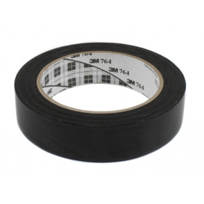 "3M 1"" X 36YARD BLACK TAPE"