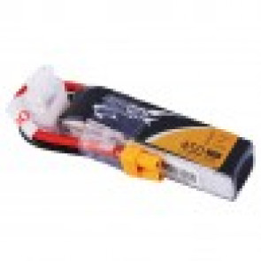 Tattu 450mAh 7.4V 75C 2S1P Lipo Battery Pack with XT30 plug - Long Size for H Frame