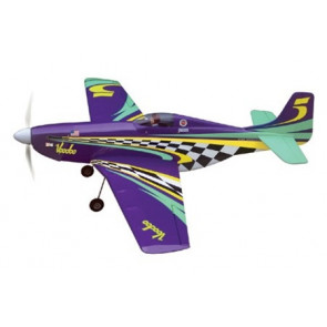 AIRBORNE MODELS VOODOO MUSTANG EP W/RETRACTS, BRUSHLESS MTR