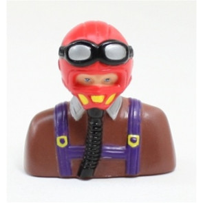 AIRBORNE MODELS PILOT WARBIRD RED/BROWN 65MM