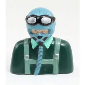 AIRBORNE MODELS PILOT STATUE GRAY/DARK GREEN