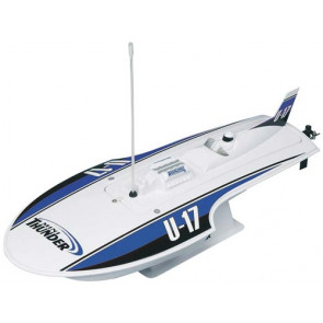 AquaCraft Mini Thunder Round Nose Hydroplane Blue CH A1
