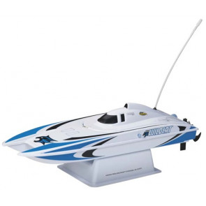 AquaCraft Mini Wildcat Catamaran Blue