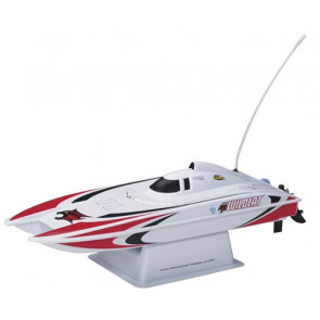 AquaCraft Mini Wildcat Catamaran Red