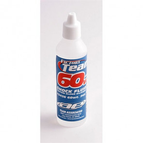 ASSOCIATED Silicone Shock Oil, 60Wt 2oz