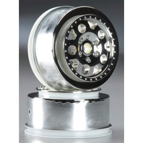 Associated KMC Wheel Chrome Front SC10 (2)