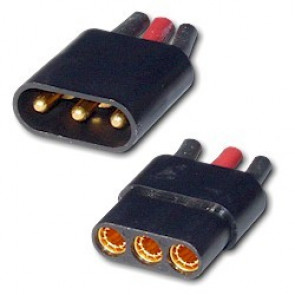 AST521 Astroflight Zero Loss Connector 3-Pin Set