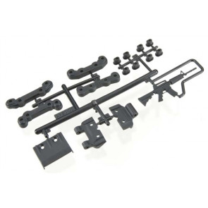 Axial Chassis Guard/Toe Block Insert Set Fr/Re EXO