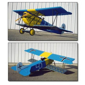 BALSA USA 1/4 SCALE FOKKER D-VII KIT