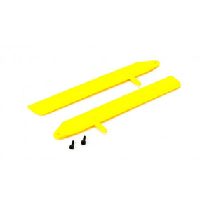 BLADE Fast Flight Main Rotor Blade Set, Yellow: 130 X