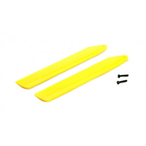 BLADE Hi-Performance Main Blade Set, Yellow: mCP X BL