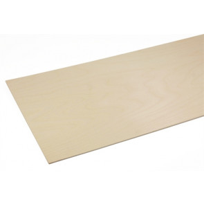 "BUD NOSEN MODELS 3/32"" X 12"" X 48"" BIRCH PLYWOOD 5-PLY"
