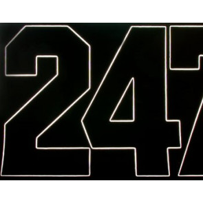 "COVERITE 3"" NUMBERS  BLACK"