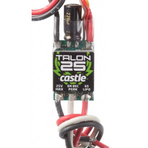 Castle Creations Talon 25 ESC 25A 25.2V