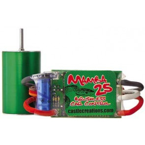 CASTLE CREATIONS MAMBA BRUSHLESS 1/18 SCALE POWER PKG
