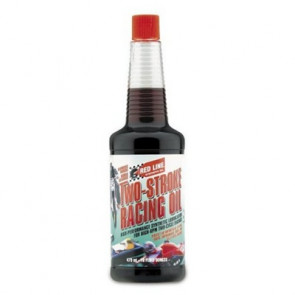 RED LINE OIL 2-Stroke Race Pre-Mix 16 oz. / 473 mL