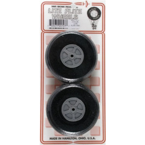 "Dave Brown Treaded Lite Flite Wheel 2-3/4"" (2)"