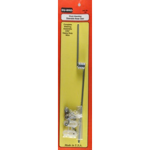 """Dubro Shock Absorbing Nose Gear 5/32"""" Straight"""