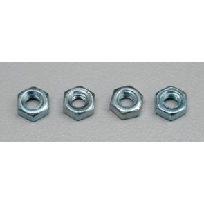 Dubro Hex Nuts 4mm (4)