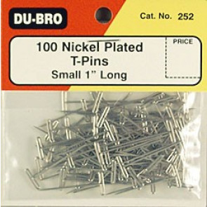 """Dubro T-Pins 1"""" (100)"""