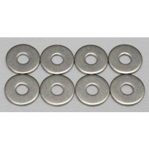 Dubro Stainless Steel Flat Washer #4 (8)