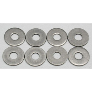 Dubro Stainless Steel Flat Washer #6 (8)