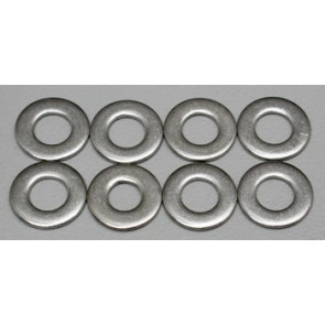 Dubro Stainless Steel Flat Washer #8 (8)