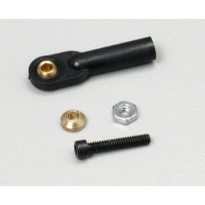 Dubro Swivel Ball Link 2-56 w/Hardware Black