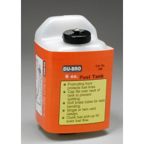 Dubro S6 Square Fuel Tank 6 oz