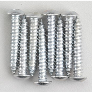 Dubro Button Head Sheet Metal Screws 8x1 (8)