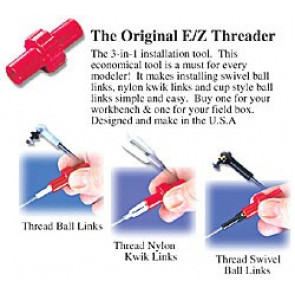 Dubro E/Z Threader 3 'n 1 Tool