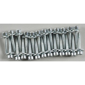 Dubro 2x12mm Socket Head Servo Mounting Screws (24)