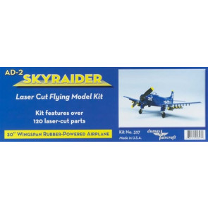 Dumas US Navy AD-2 Skyraider Rubber Kit 30""