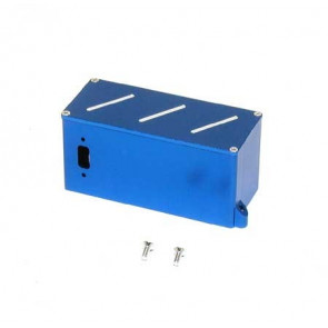 DYNAMITE ALUM BATTERY BOX BLUE TMX