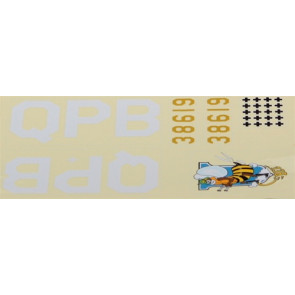 E-flite Decal Set Bee: P-51B Mustang