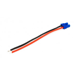 "E-flite EC2 Battery Connector with 4"" Wire, 18 AWG"