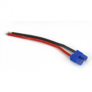 """E-flite EC3 Battery Connector with 4"""" Wire, 16 AWG"""