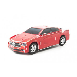 Greenlight MotoBuildz 2012 Dodge Charger SRT 3D Car Puzzle