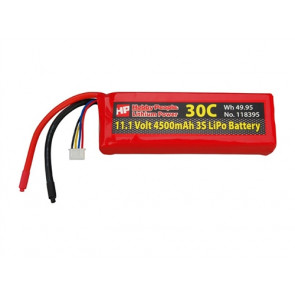 HP 11.1V 4500mAh (3S) 30C LiPo Battery
