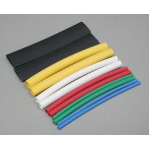 Great Planes Heat Shrink Tubing Assortment (12)