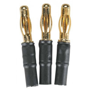 Great Planes Bullet Adapter 4mm Male/3.5mm Female (3)