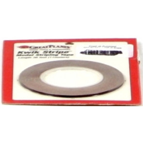 Great Planes Striping Tape Metallic Red 1/16""