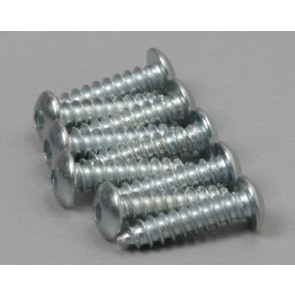 "Great Planes Button Head Sheet Metal Screws 2x3/8"" (8)"
