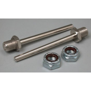 """Great Planes Bolt-On Axle 2x5/32"""" (2)"""